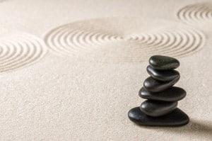 des pierres chaudes pour faire le massage