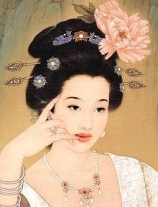 une femme japonaise