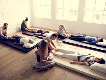 un atelier pour apprendre le massage