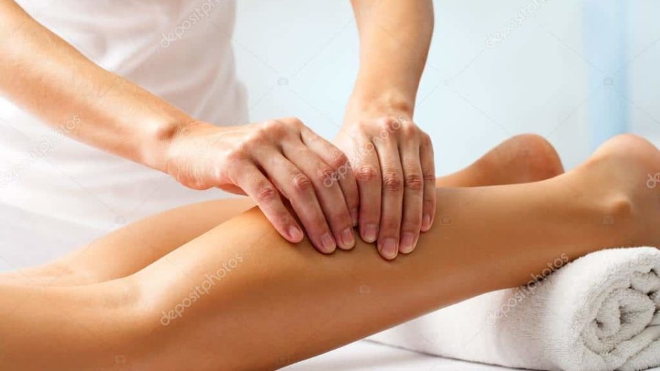 massage mollet