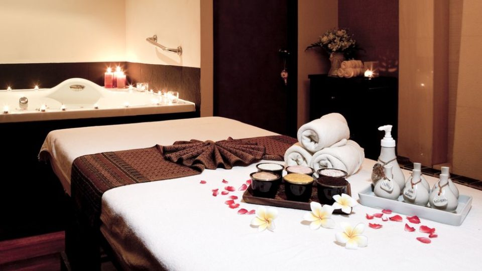 salle de massage dans un spa