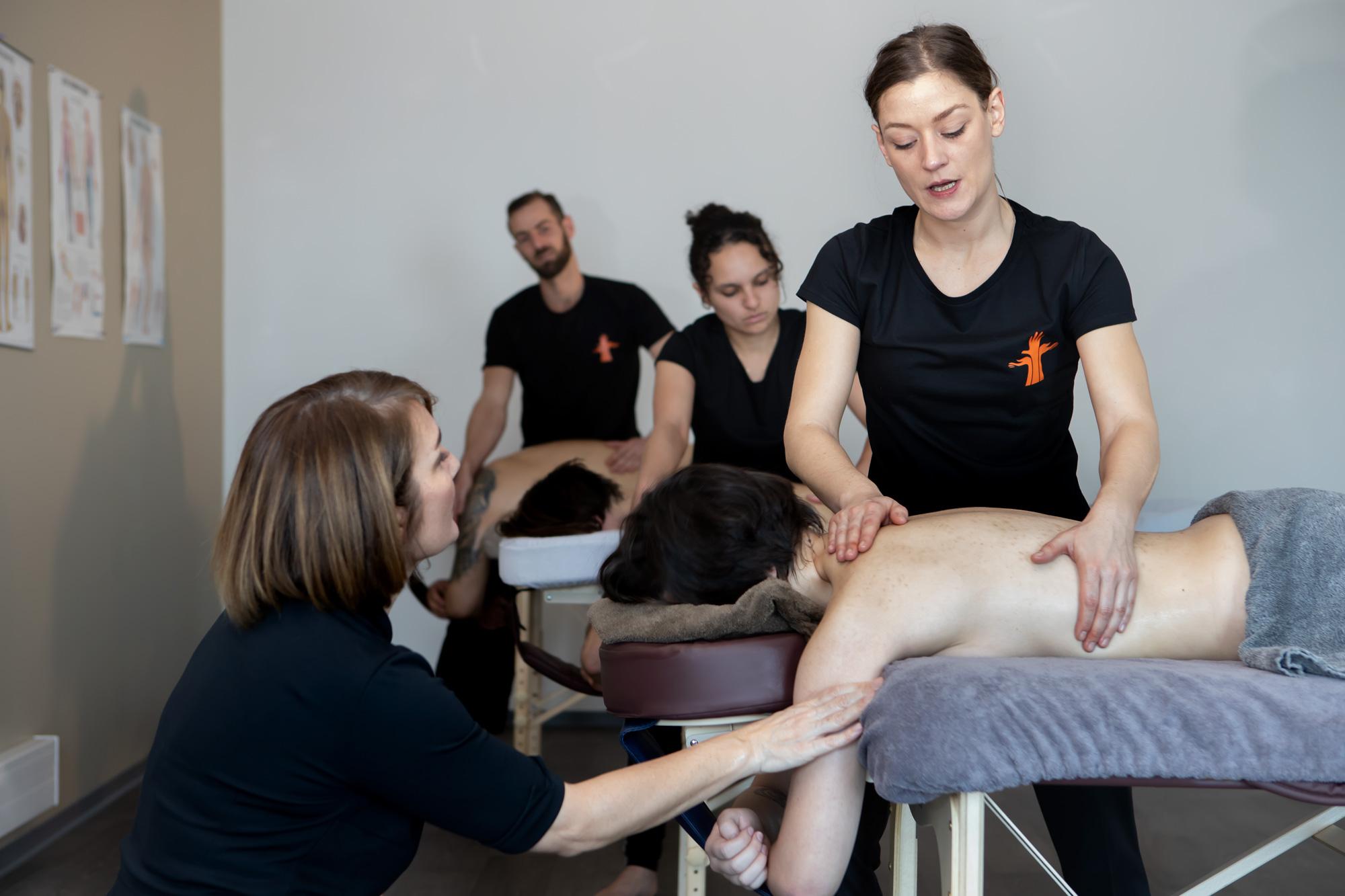 Praticien en massage bien-être