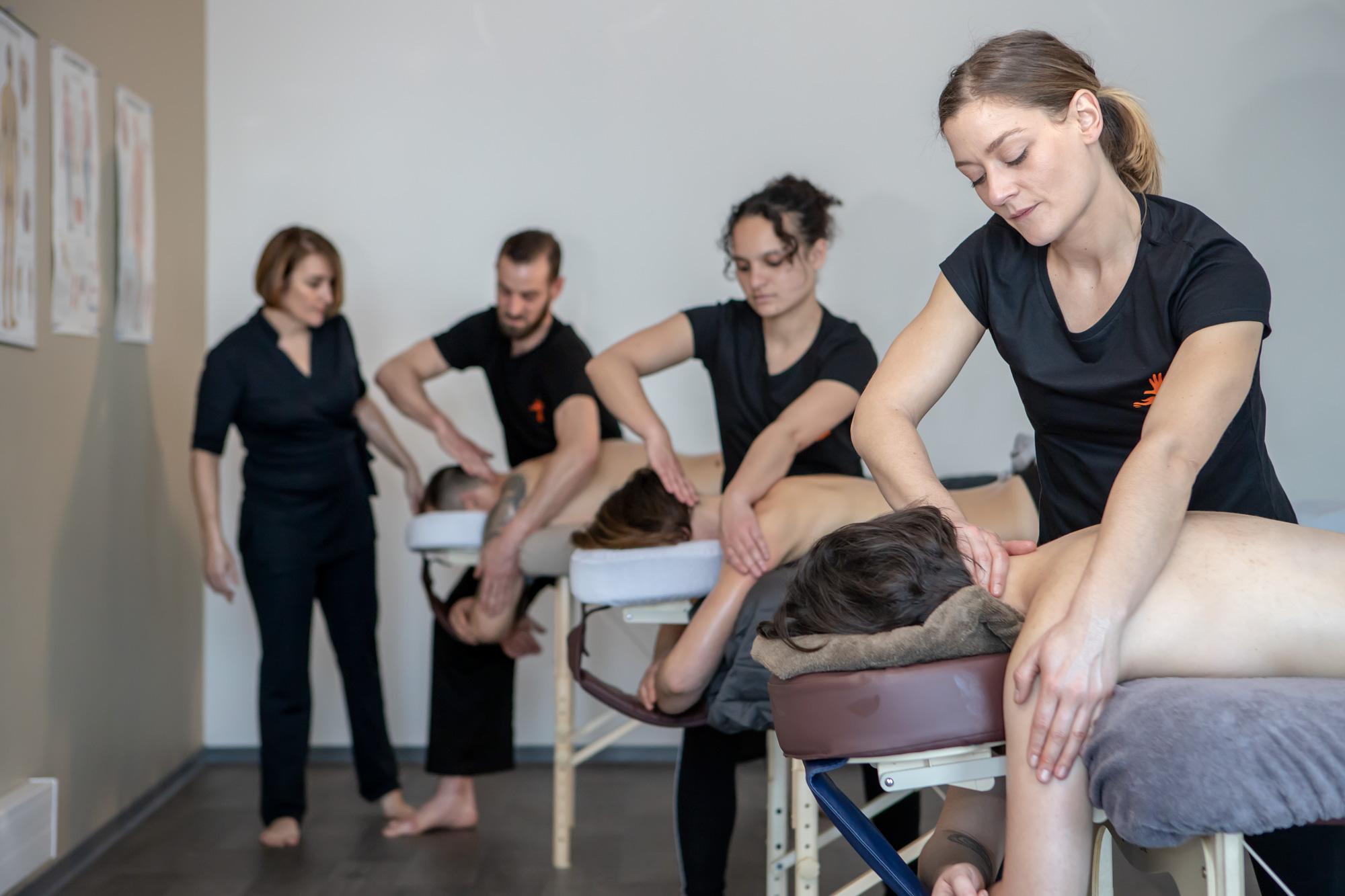 Praticien massage bien-être Master