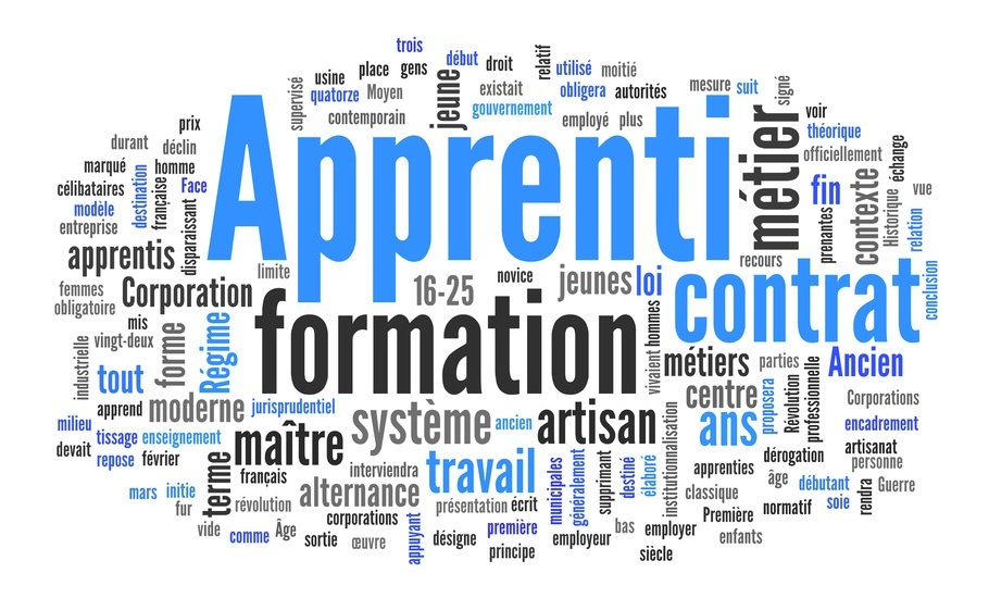 contrat apprentissage massage